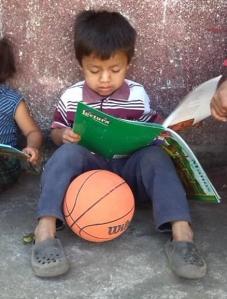 Little Boy Basketball